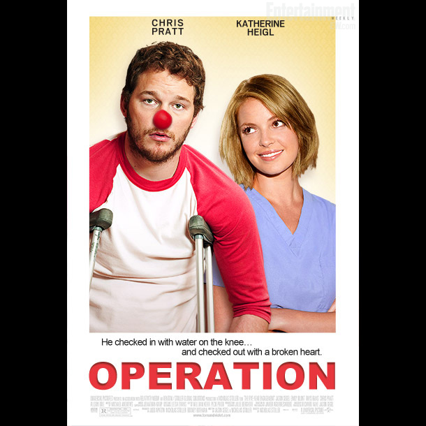 In this 100 percent medically accurate romantic comedy, Chris Pratt plays Richie Lucas, a Major League shortstop and prospective MVP who begins to suffer from…