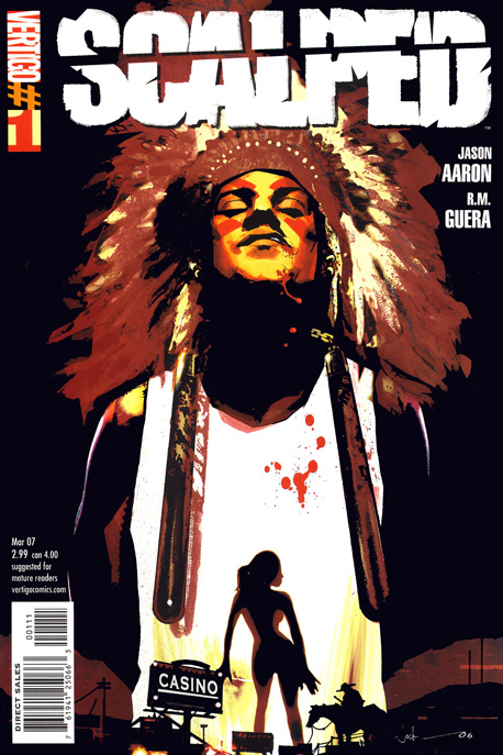 Jason Aaron and R.M. Guera's still-unfinished tale about the criminal underworld on the Prairie Rose Indian Reservation reads like James Ellroy in the Wild West…