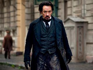 BACK IN BLACK John Cusack plays dark, gothic author Edgar Allan Poe in The Raven