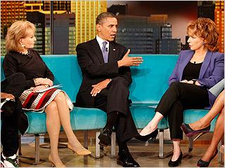 The View Barack Obama 2