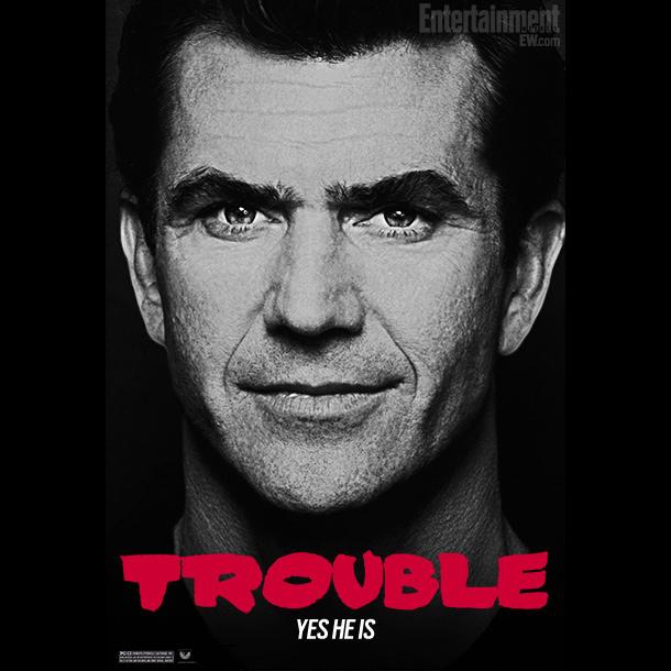 Mel Gibson plays Mel Gibson.