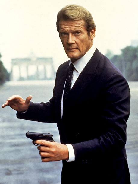 Roger Moore, James Bond, ... | After six definitive portrayals of 007 by Sean Connery, the pressure on Roger Moore in 1973 to deliver a Connery imitation must have been enormous.…