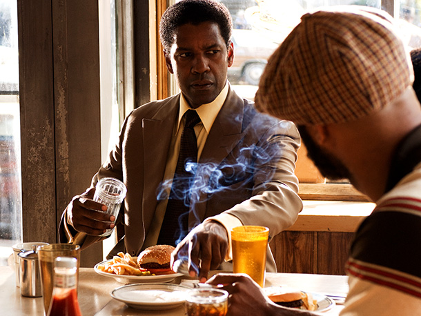 American Gangster | How many times have you seen a protagonist hold a gun up to someone's head as a threat? Hundreds. How many times have you seen…