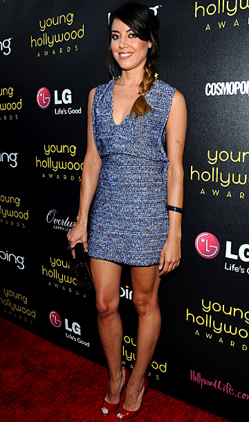 Aubrey Plaza at the 14th annual Young Hollywood Awards in Los Angeles