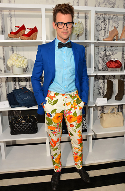 Brad Goreski at the eBay Selling Style/Say Goodbye to Closet Commitmemt event in New York City