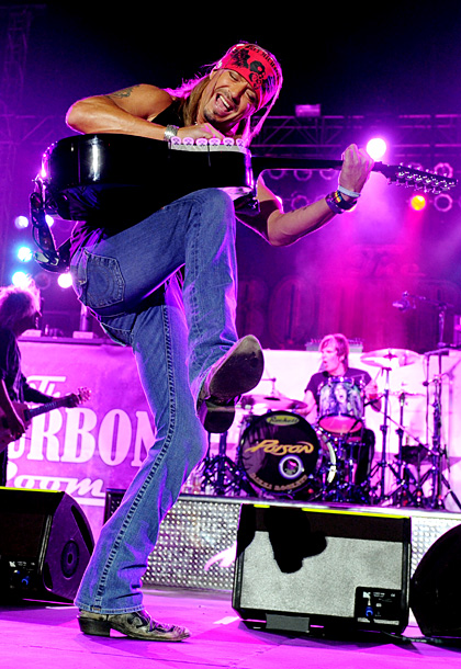 Bret Michaels | ''No doubt I have to do some Aerosmith 'Walk This Way.' I can nail that one. And if I am really hammered, I will try…