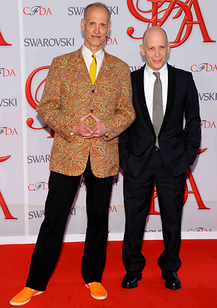 John Waters and guest