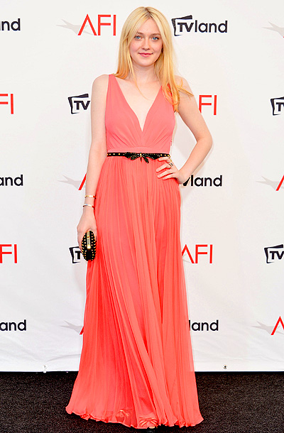 Dakota Fanning at the TV Land Presents: AFI Life Achievement Award Honoring Shirley MacLaine in Los Angeles