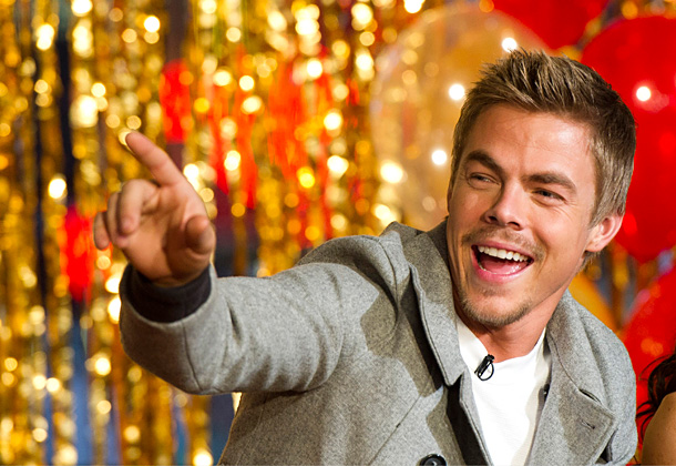 Derek Hough | ''I haven't done it in years but I have done Eminem when I want to show off my rap skills, which are pretty terrible, atrocious.…
