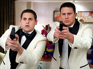 21 JUMP STREET Jonah Hill and Channing Tatum