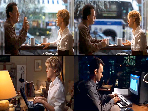 Nora Ephron | You've Got Mail Joe: Tweaking? Kathleen: That's what he said. Joe: He's probably married. Kathleen: That's a terrible thing to say. It's not possible. Joe:…