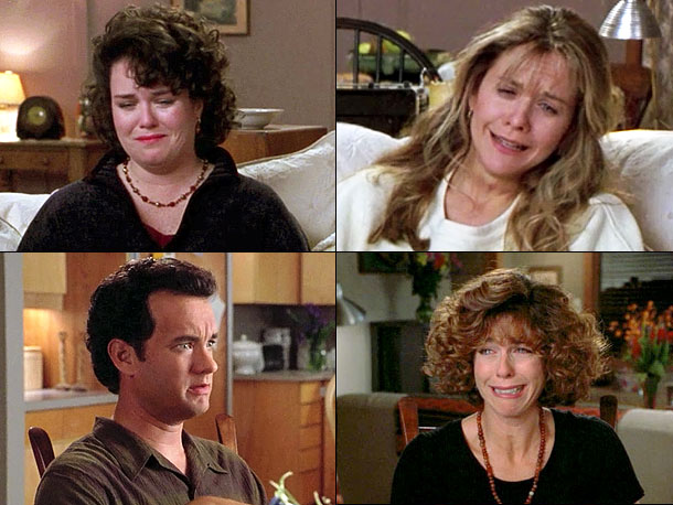 Nora Ephron | Sleepless in Seattle Becky: Men never get this movie. Annie: I know. Becky: Do you think at the end of the movie when she's in…