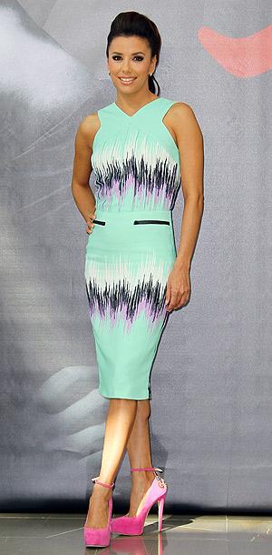 Eva Longoria in Versus at the 52nd annual Monte Carlo Television Festival