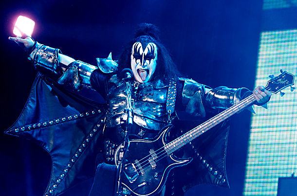 Gene Simmons | ''First let me clarify that I like karaoke done only in karaoke bars. I don't like when people do karaoke on stage and pretend that…