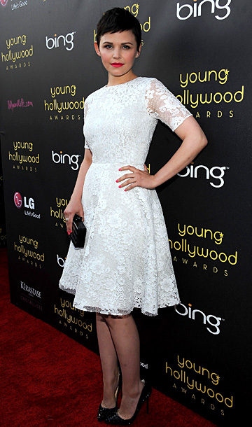 Ginnifer Goodwin at the 14th annual Young Hollywood Awards in Los Angeles