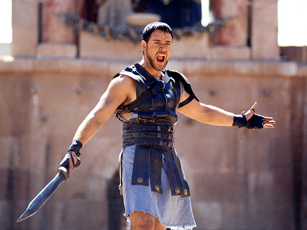 Gladiator, Russell Crowe | Gladiator was a bit of a comeback for Scott after a luckluster '90s, and the film is filled with wham-pow spectacle. But when Maximus survives…
