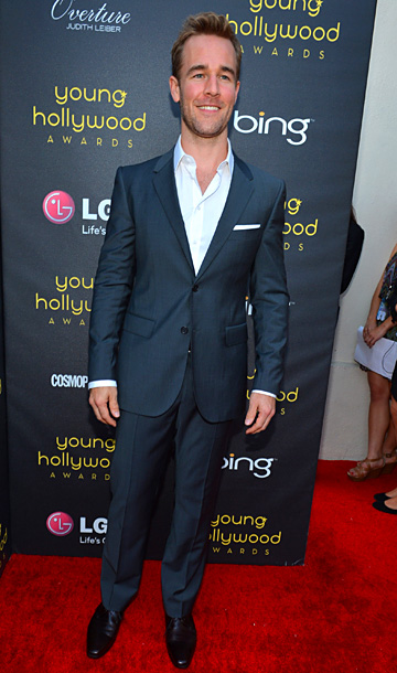 James Van Der Beek at the 14th annual Young Hollywood Awards in Los Angeles
