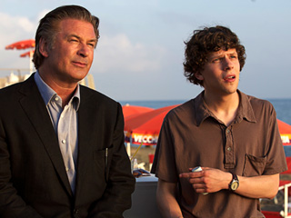 CIAO BELLO Alec Baldwin and Jesse Eisenberg star in Woody Allen's To Rome With Love