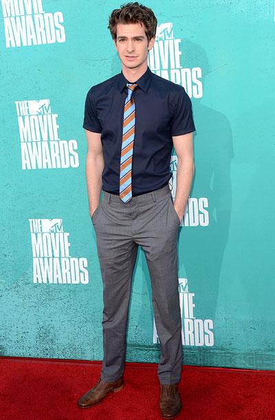 Andrew Garfield, MTV Movie Awards 2012