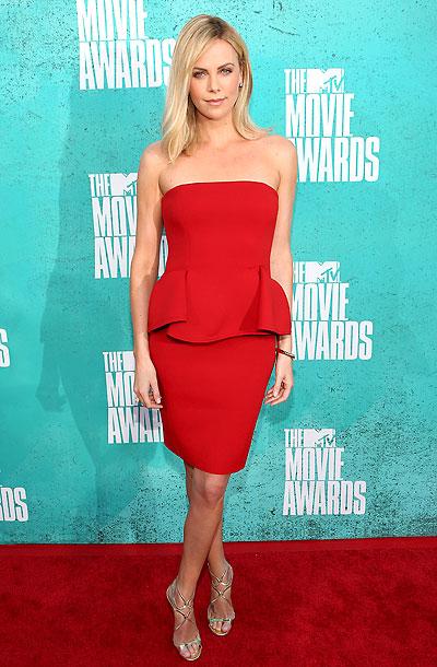 Charlize Theron, MTV Movie Awards 2012