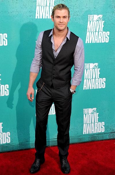 Chris Hemsworth, MTV Movie Awards 2012
