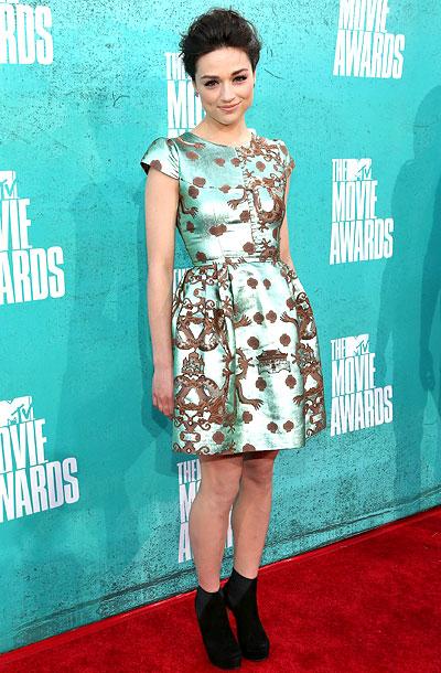 Crystal Reed, MTV Movie Awards 2012