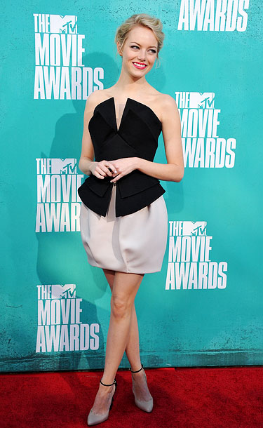 Emma Stone, MTV Movie Awards 2012