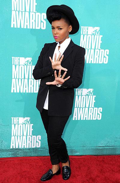 Janelle Monae, MTV Movie Awards 2012
