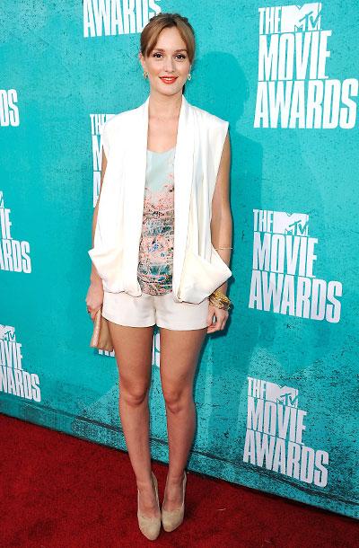 Leighton Meester, MTV Movie Awards 2012
