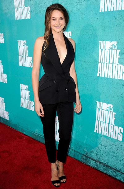 Shailene Woodley, MTV Movie Awards 2012