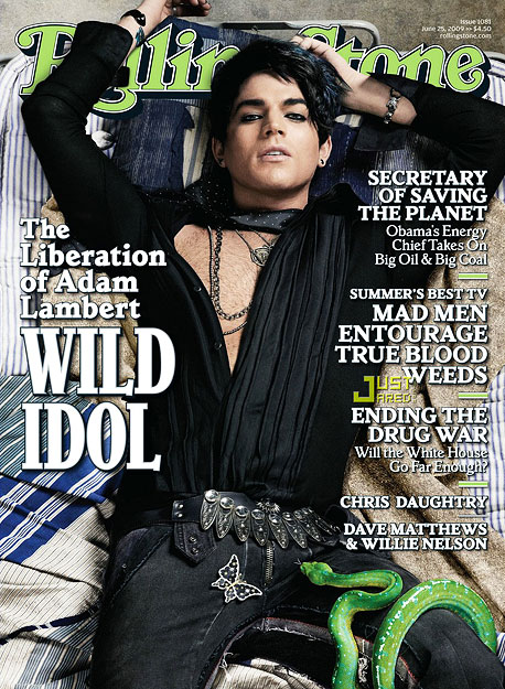 June 2009 Adam Lambert announces he's gay in an interview with Rolling Stone magazine. ''I don't think it should be a surprise for anyone to…