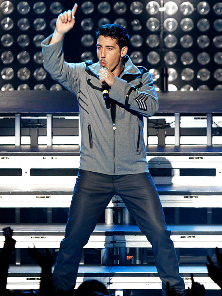 January 2011 Former New Kids on the Block singer Jonathan Knight comes out in a statement on the band's website.