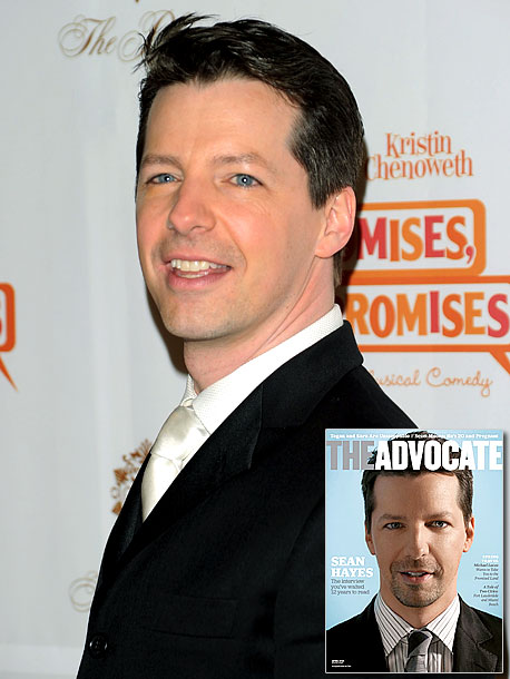 April 2010 In an Advocate cover story billed as ''the interview you've waited 12 years to read,'' Sean Hayes has some pointed words for the…