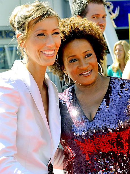 November 2008 At a rally for same-sex marriage in Las Vegas, Wanda Sykes tells the crowd she is gay and reveals that she wed her…