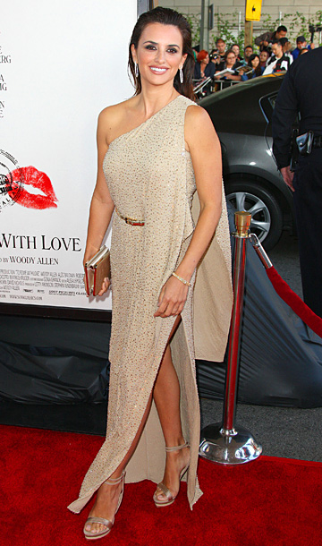 Penelope Cruz at the Los Angeles Film Festival premiere of To Rome With Love in Los Angeles