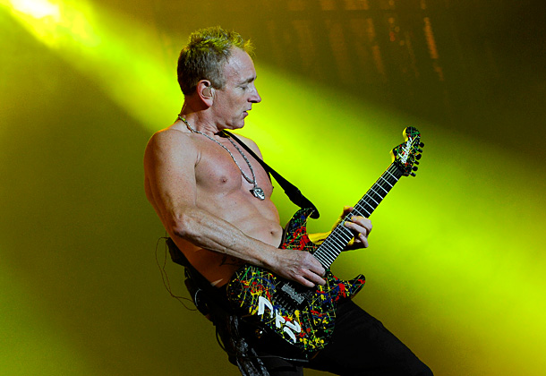 Phil Collen | ''I got thrown under the bus a couple of times in Asia. They found out I was in a band and made me get up…