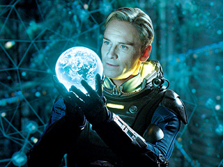 ALIEN DNA Michael Fassbender as David in Prometheus