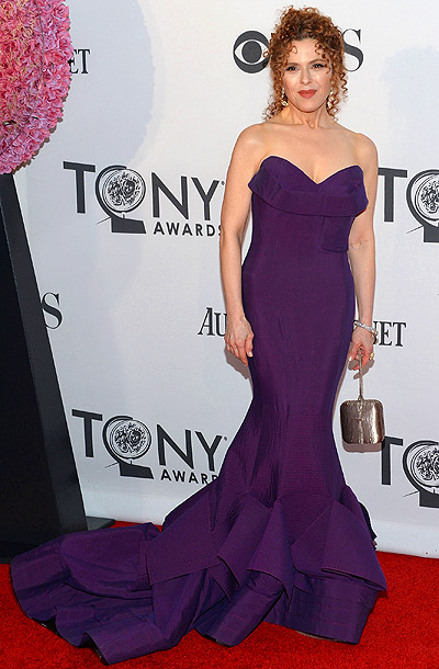 Bernadette Peters in Donna Karan at the 2012 Tony Awards in New York City