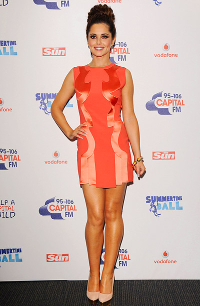 Cheryl Cole in Hakaan at the Capital FM Summertime Ball in London