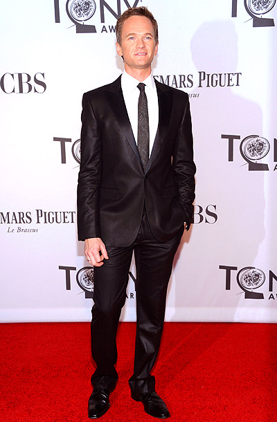Neil Patrick Harris in Calvin Klein Collection at the 2012 Tony Awards in New York City