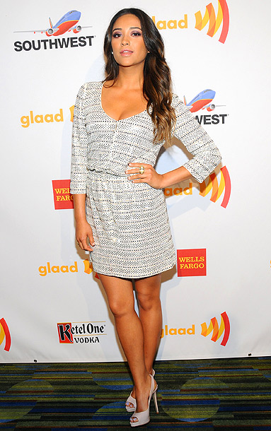 Shay Mitchell at the 23rd annual GLAAD Media Awards in San Francisco