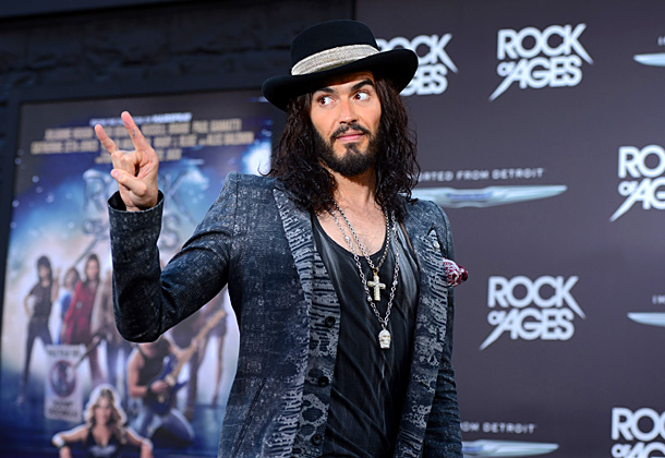 Russell Brand, Rock of Ages | '''The Wonder of You' by Elvis just because of the grandeur.''