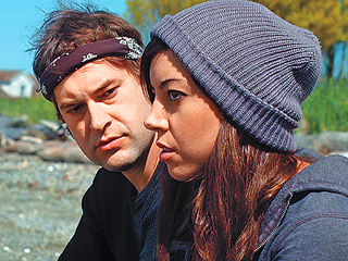 SAFETY NOT GUARANTEED Mark Duplas and Aubrey Plaza
