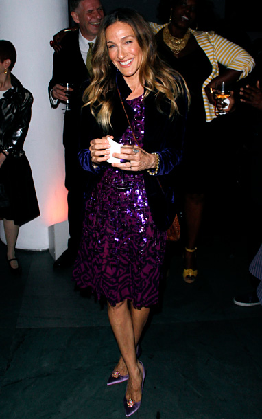 Sarah Jessica Parker at the Gordon Parks Foundation Centennial Gala in New York City