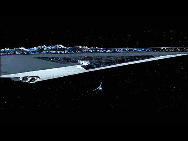 Star Wars: Episode V - The Empire Strikes Back | Coolest Feature: The all-encompassing size of this Super Star Destroyer makes it one of the most imposing ships in sci-fi. But the designers didn't scrimp…