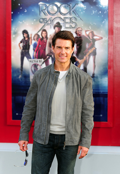 Tom Cruise, Rock of Ages | ''I don't have a go-to song because in our family, you get the karaoke on and you go. Whatever shows up [on the screen], you…
