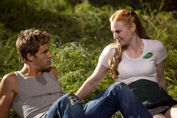 Ryan Kwanten, Deborah Ann Woll, ... | After a year of living together, vampire Jessica realized she wasn't ready to be in a monogamous relationship with human Hoyt (Jim Parrack), and she…