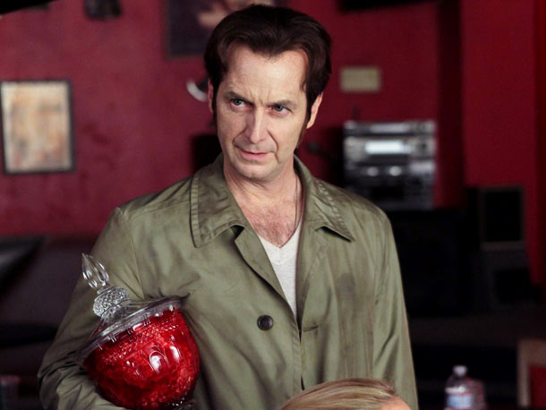 Denis O'Hare, True Blood | The former King of Mississippi, Russell, went insane after Eric murdered his lover, Talbot (Theo Alexander), in season 3. Talbot's murder was retribution for the…