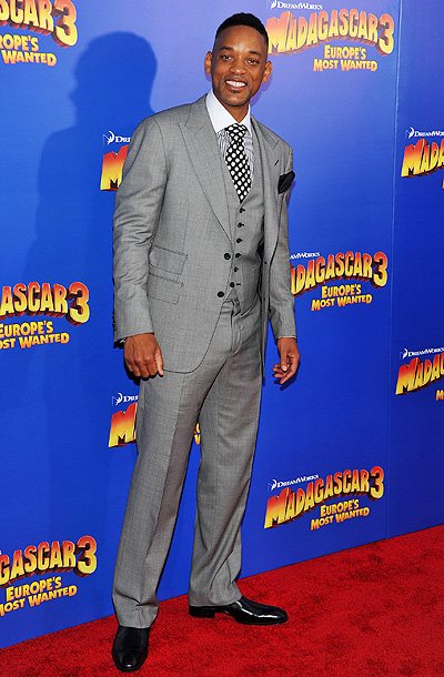 Will Smith at the premiere of Madagascar 3: Europe's Most Wanted in New York City