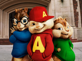 Alvin and the Chipmunks: The Squeakquel | RODENT WARRIORS Theodore, Alvin, and Simon head back to school in Alvin And The Chipmunks: The Squeakquel